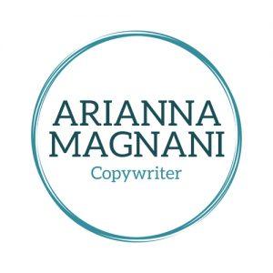 arianna magnani copywriter logo